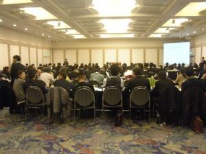 過去最高164名参加、 場所も去年の貸会議室から、品川プリンスホテルに