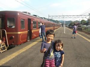 お花畑駅から長瀞まで。