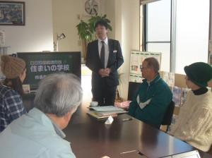 校長先生のパートだけ、リクシル大山さんにお願い! さすが流暢!
