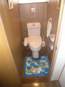 20年間頑張ってくれたトイレ