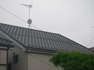 屋根も全く問題なし!