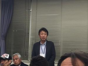 スーパーウォール会、そしてツタエルさんつながりの白石工務店串田専務。